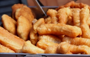 Deep fried pastry sticks. Photo Credit: vanillaechoes (via FreeDigitalPhotos.net)