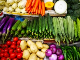 """Vegetables At Market"" by kratuanoiy via FreeDigitalPhotos.net"